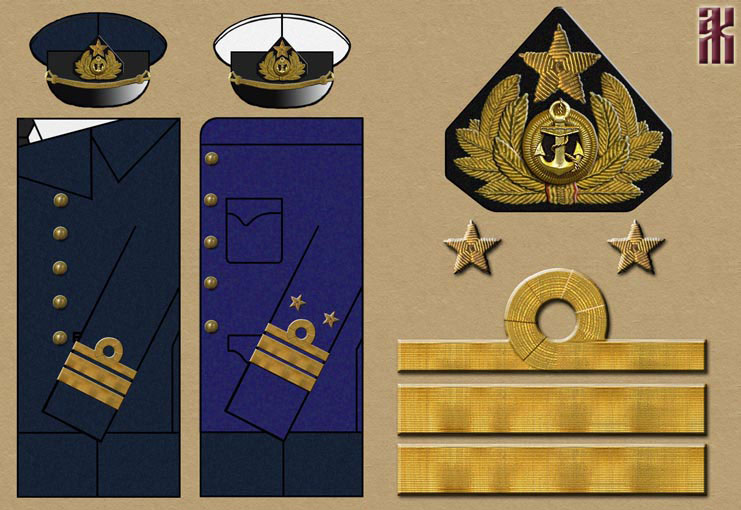 Форма адмирала своими руками